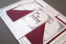 Burgundy Wedding / by Whimsy B. Designs