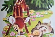 vintage bambi / by Elissa- One Stone Events