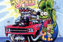 Ed Roth / The works of Ed Roth and other related pieces. / by M Mullins