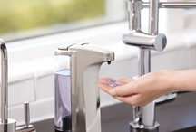 soap & pumps / Some things are made for each other, like our line of soap and pumps.  / by simplehuman
