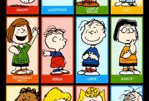 Peanuts & gang / by Julie Fenner
