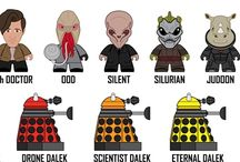 Doctor Who Toys and Games / by Kasterborous Doctor Who