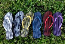 Chic flip flops / Flip Flops for fashionable women  with a huge heart! Get one give one!! / by Roma Boots