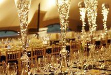 Decoracion para boda / centros de mesa, arreglos florales, decoracion de salones e iglesias / by fiestasdeboda.com
