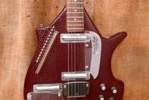 """Guitarz Of Brown & Tan"" / by John Beacher"
