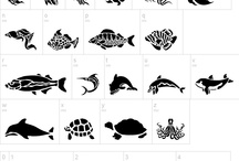 Stencil Ideas / by Maddie Ovenell