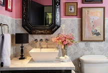 Pink Bathroom  / by Terri Deeds
