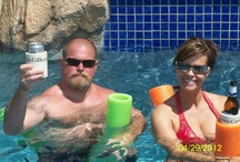 CanUdle / Largest, most unique over-sized pool noodle that holds your beverage and keeps your hands free and your drinks cold. It is FUN for all kinds of water to float and relax while enjoying a beverage. CanUdles are made in AMERICA and are made with FDA approved dyes. They make perfect gifts. It's NOT just a noodle..It's a CanUdle.  / by CANUDLE