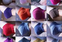 knitting for the feet / by Wendy Pinne