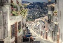 España: Ciudades y Paisajes / Spanish cities / by Mummy and Annie