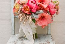 blooms / Tons of ideas for wedding ceremony, reception, and party blooms: florals, bouquets, boutonnieres, floral crowns, aisle decorations, centerpieces, wreaths, flower girl baskets, and more! / by Love Letters Cards