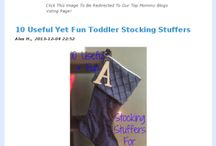 Stocking Stuffers / by Lucille Kauffman