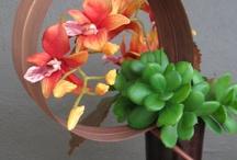 Ikebana, flowers arrangement. / by Luis