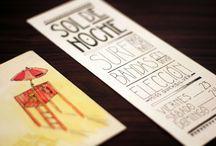 illustration & typography / by Estudio Tricota