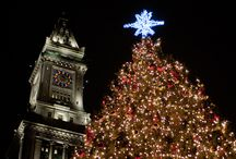 Boston Holiday Events and Pictures / Events & Pictures in Boston from Tree Lightings to Ice Skating and more during the Holidays! / by Kate @ Boston On Budget
