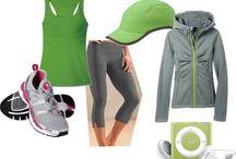 Workout clothes / by Debbie Soltesz