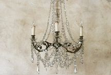 Chandelier/gorgeous lighting / by Julie Stout