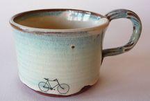 Mugs, cups & Pottery / Cups & Mugs  / by Anita Moyer