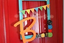 Wreaths and door hangings / by Janelle Marsh Deaton
