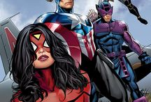 The Avengers Stuff / by Carol Kurpjuweit