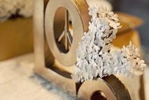 Bronzed Gold Wedding / by Shine Wedding Invitations