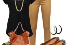 Work outfit ideas / by Rachel Scala