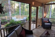 screened in porches / by Mollie Moore