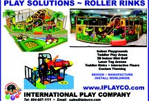 Commercial Play Solutions for Roller Rinks / by International Play Company