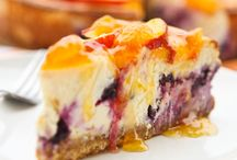 Food: Cheesecake Delish / I love cheesecake! Yummm! I love great recipes for making variations on cheesecakes. #cheesecake #recipes #food #desserts / by Blanche Hayden