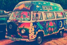 Awesome hippy vans / by Isabella Brennan