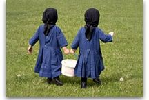 Amish pictures / Like the simplicity / country / by Dixie Johnson