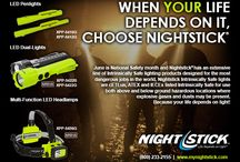 June is National Safety Month / When You Life Depends On It, Choose Nightstick / by Nightstick by Bayco Products, Inc.