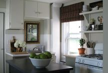 Kitchen / Yay for me! We have a new kitchen! Not quite done yet, so this is where I pile ideas. / by Tara Tarbet