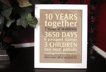 Anniversary Ideas / by Lisa Kisshauer