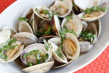 seafood dishes  / by Dawn Baker