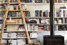 Shelves and co. / Bookshelves / by Mariella Amitai