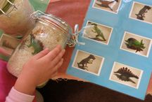 Dinosaur Crafts Pre / Crafts are for 3-5 year olds. This unit is so much fun and that's why we learn about it. / by Carolin Chubinsky