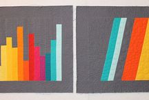 All Solids, All the Time - solid quilts and quilt blocks / by Elizabeth Dackson