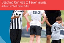 Sports Safety / Playing sports is a great way to keep kids active, healthy and happy, but too many kids are sidelined because of injuries. In fact, each year more than 3.5 million children suffer sports injuries severe enough to require medical attention.