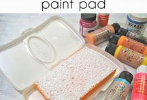Paint pads and stamps / by Nina Beaudoin