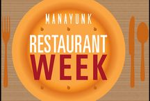 Fall Manayunk Restaurant Week 2013 / Your guide to Manayunk's 2013 Fall Restaurant Week! / by Manayunk.com