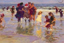 a swim / by Annette Jones