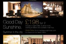 Special Offers at Hard Days Night Hotel / Check out our special offers here or on www.harddaysnighthotel.com / by Hard Days Night Hotel, Liverpool. UK