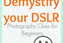 Demystify Your DSLR / My Live Online Photography Class for DSLR users / by CameraShy