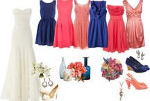 Coral and navy / by Amber Woodall