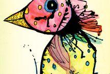 ART: INK BLOTS / by Tess Davis