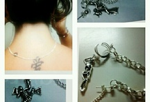 1 of a kind Jewelry Bridge earrings / by Michelle Williamson