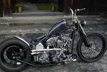 All Bobber Pictures / Bobbers are my favorite type of Motorcycle.   / by Call me Lucky