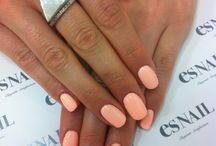 Pretty Little Pinkies  / Nail Designs / by Hannah Rose Ü