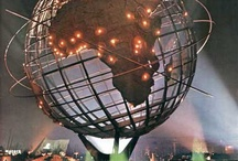 New York World's Fair 1964 - 1965  / Some of my first memories involve visiting the New York World's Fair in 1965.  You'll find some of the vintage cards pictured here at Birdhouse Books: http://stores.ebay.com/Birdhouse-Books / by Birdhouse Books